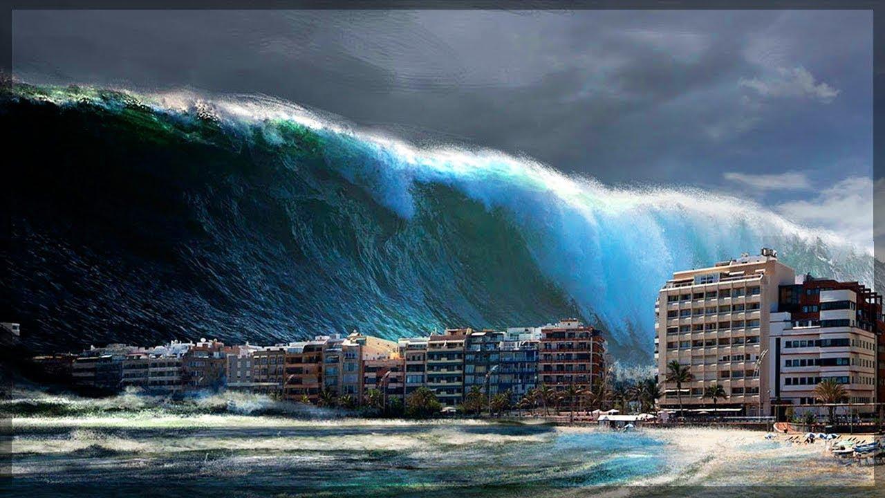 Цунами – результат резонанса частоты морских волн с частотой подземных толчков