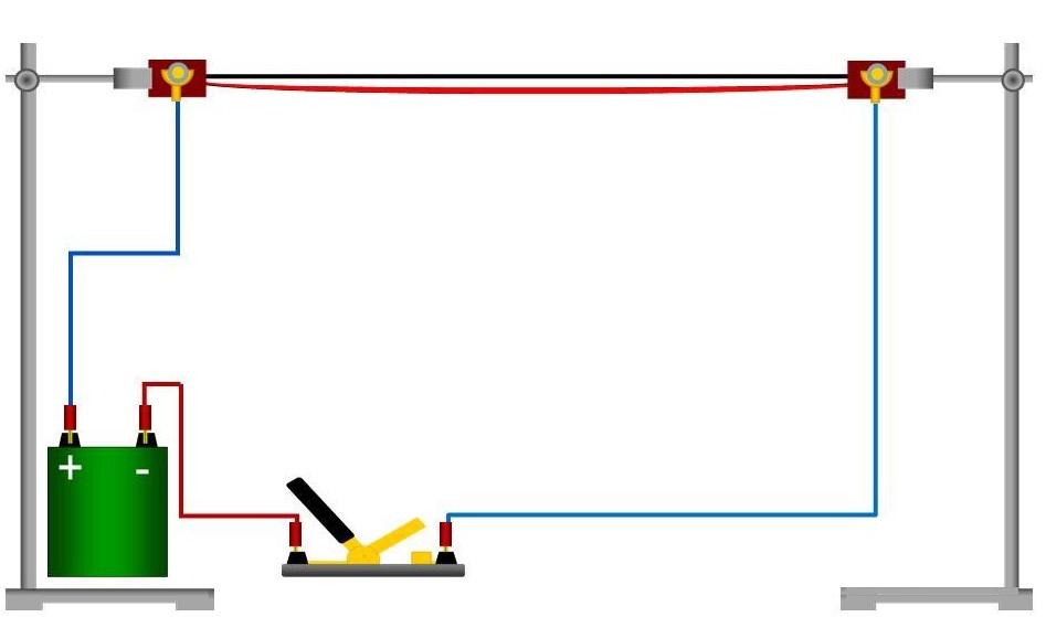 Простой эксперимент демонстрирует, как происходит повышение температуры проводника