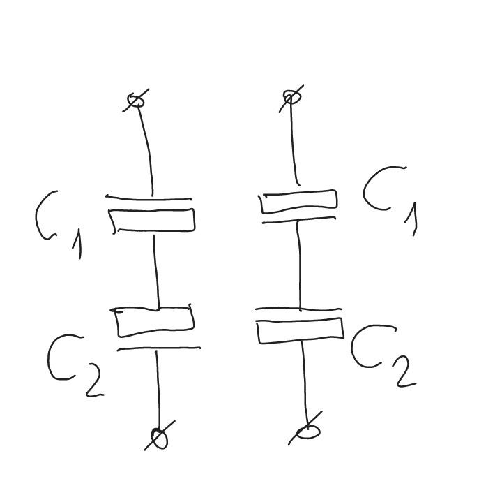 Соединение неполярных устройств с целью получения полярного