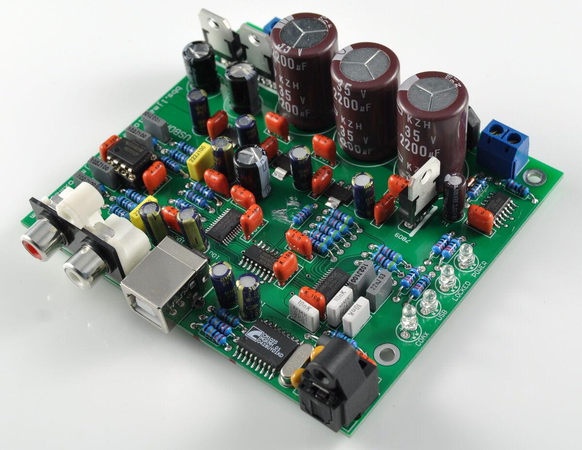 Электронная схема усилителя звука