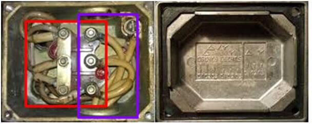 Соединения на борно двигателя