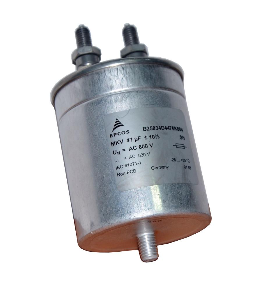 Коррекция низкого коэффициента осуществляется через использование конденсаторов