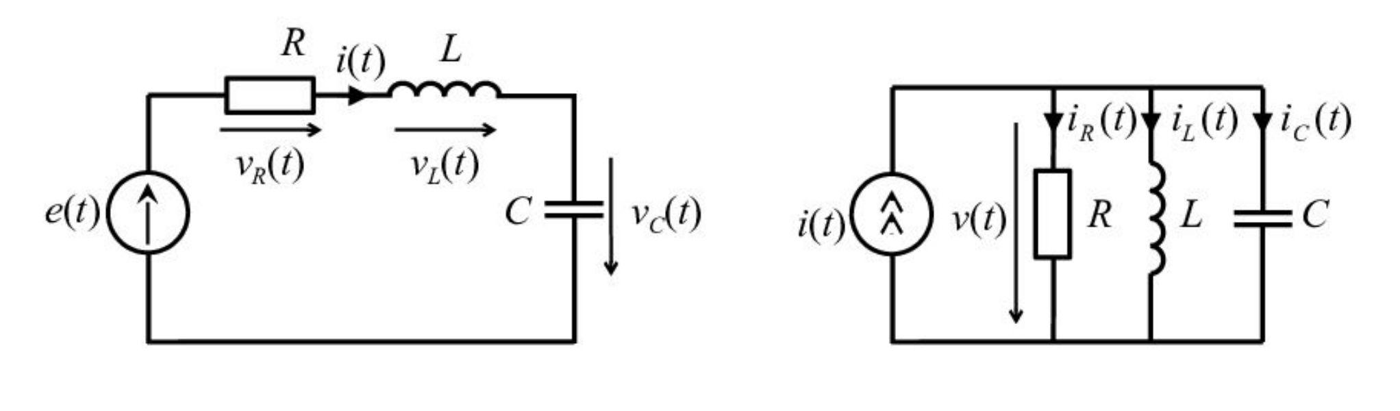 Последовательный и параллельный колебательные контуры