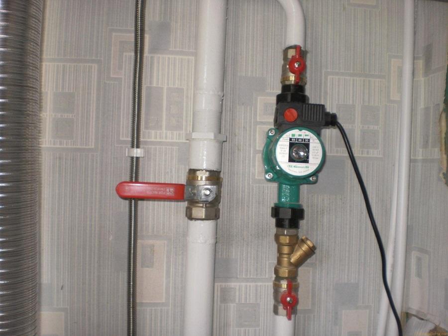 Циркуляционный насос в системе отопления