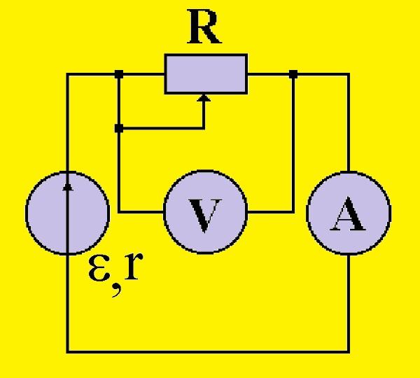 Схема для измерения R0