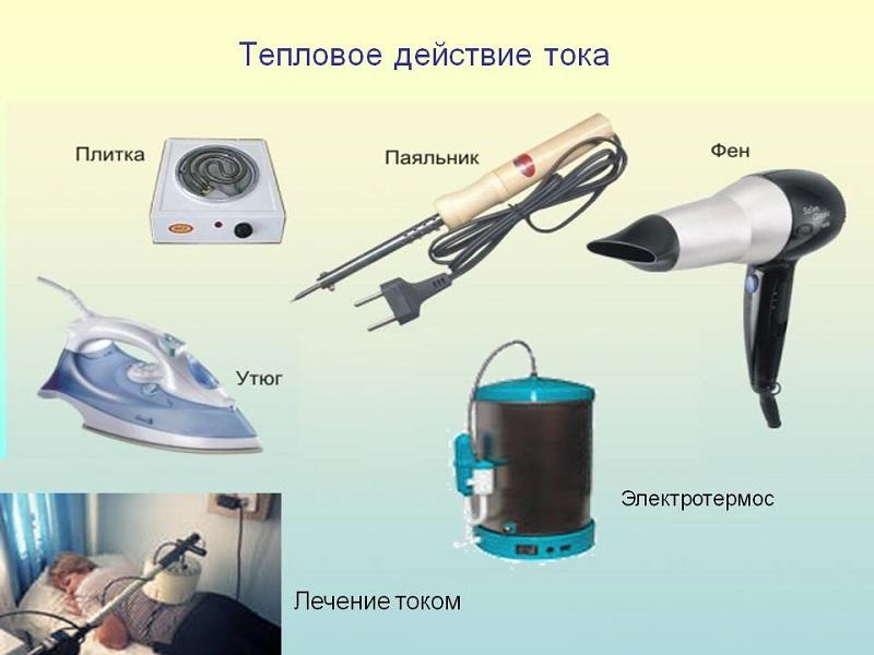 Эта техника выполняет свои функции с применением теплового воздействия