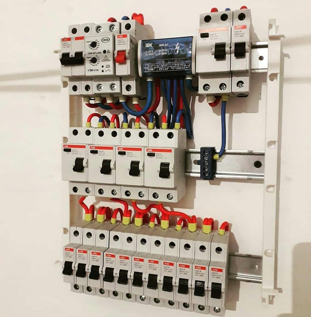 Применение провода для электромонтажных работ
