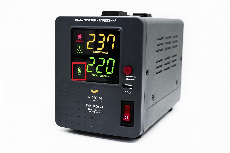 Индикатор температуры