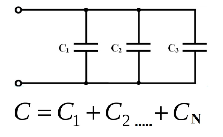 Параллельные конденсаторы