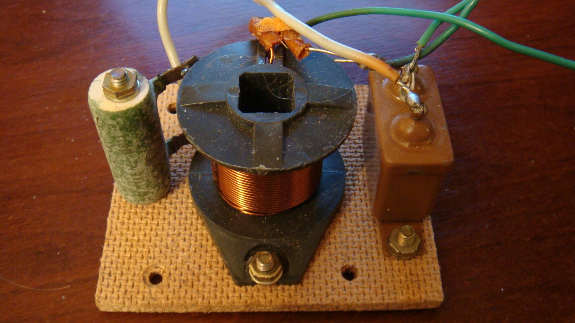 Самодельный звуковой фильтр