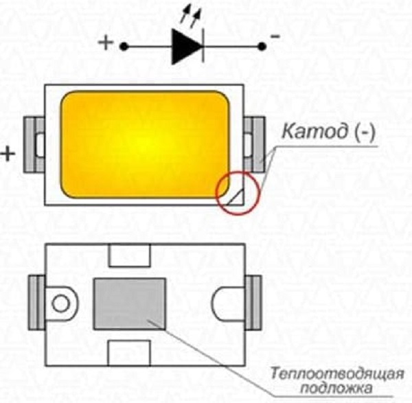 Определение распиновки по теплоотводящей подложке