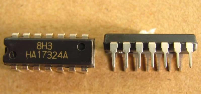 Микросхема HA17324A