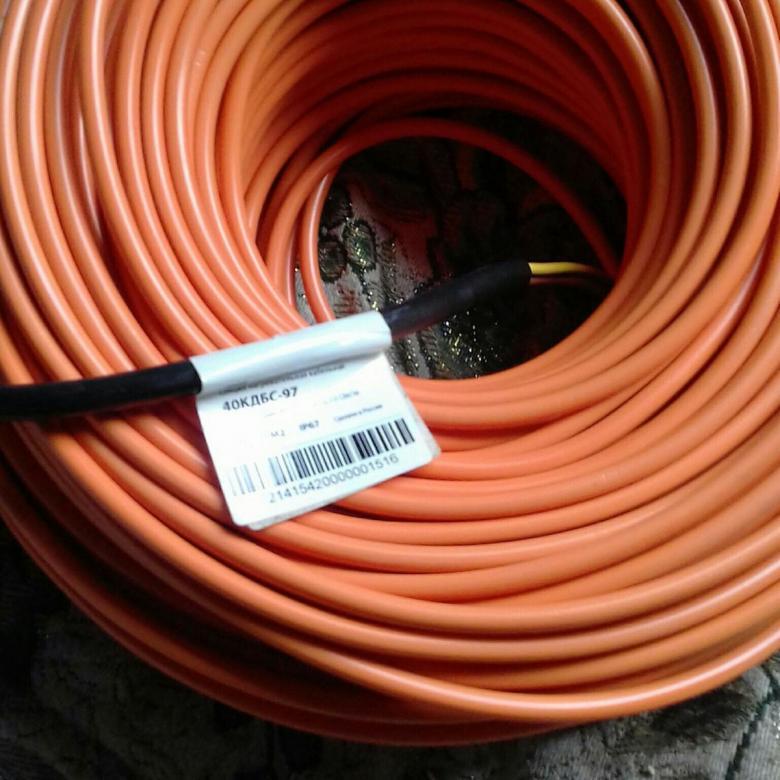 Греющий кабель КДБС