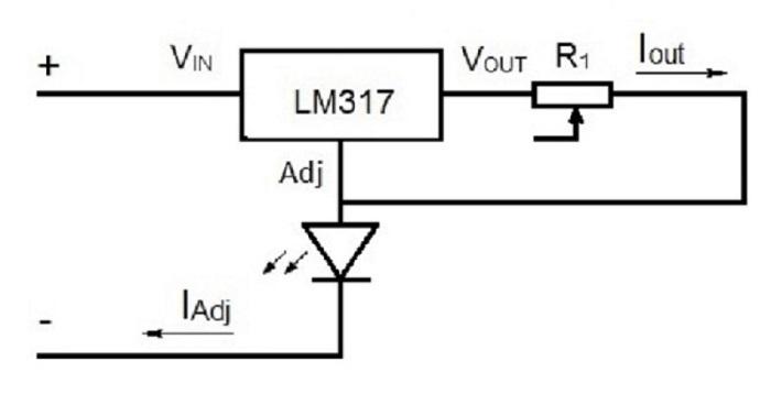 Схема драйвера тока для led-светодиода